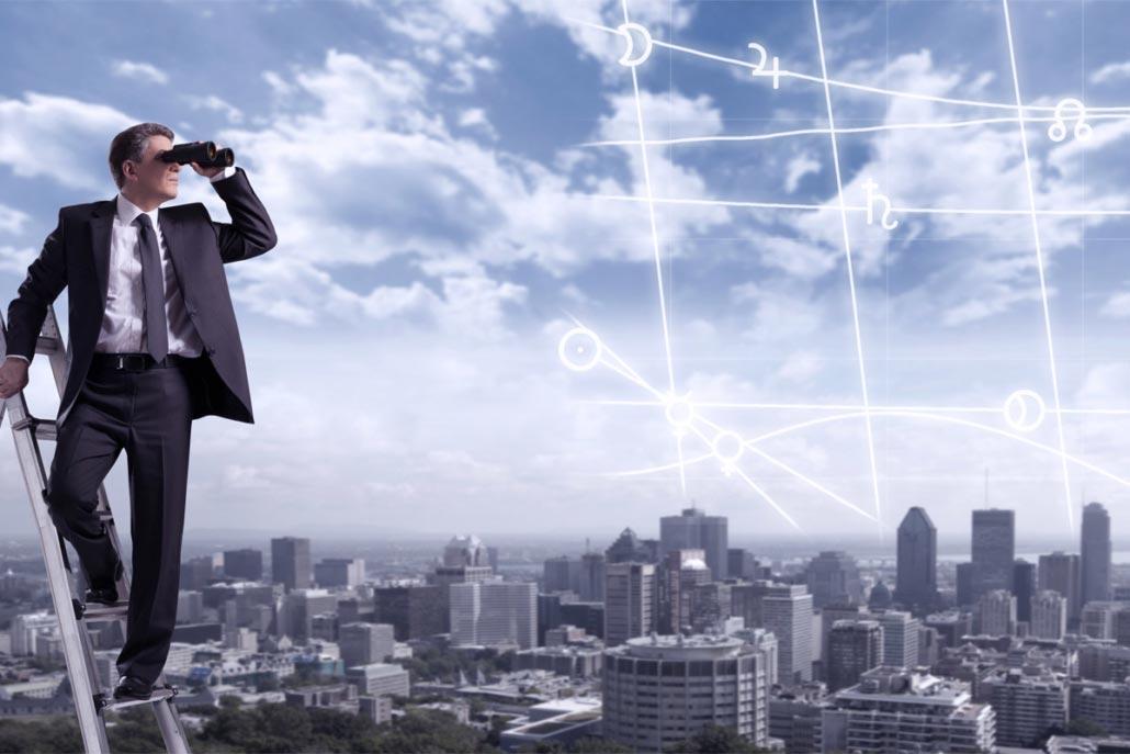Unternehmensstrategie mit Astrologie