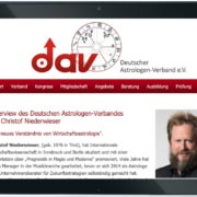 DAV Deutscher Astrologenverband Interview Niederwieser