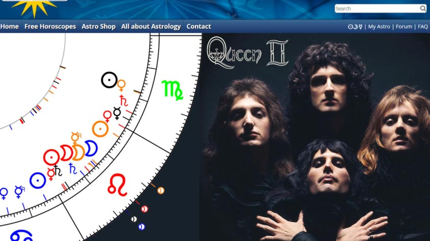 Group Horoscope Queen - Astro.com Astrodienst