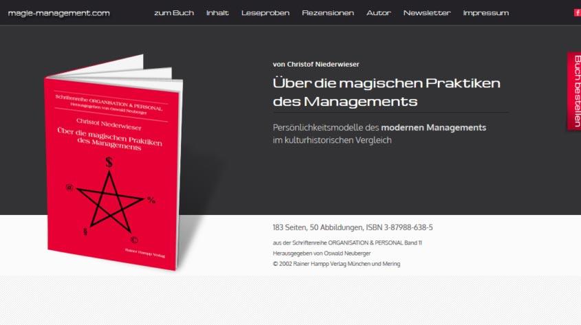 Über die Magischen Praktiken des Managements